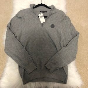 NWT Michael Kors Men Gray  Sweater size S